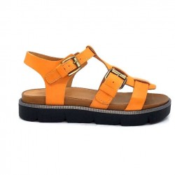 Minka Antonin Cuir Orange ANTONIN - MEGA SPONGE - VELVET 2 Printemps Eté 2021