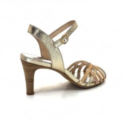 Myma 4449 Cuir Platine Or Bronze 4449/01 - ECLAT - PLATINE / OR / Printemps Eté 2021